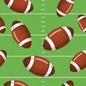 Football Repeating Pattern