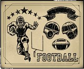Football Retro Poster Items - Create Your Own