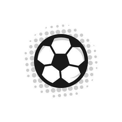 Football Russia 2018 Vector Template Design Illustration