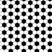 football seamless pattern
