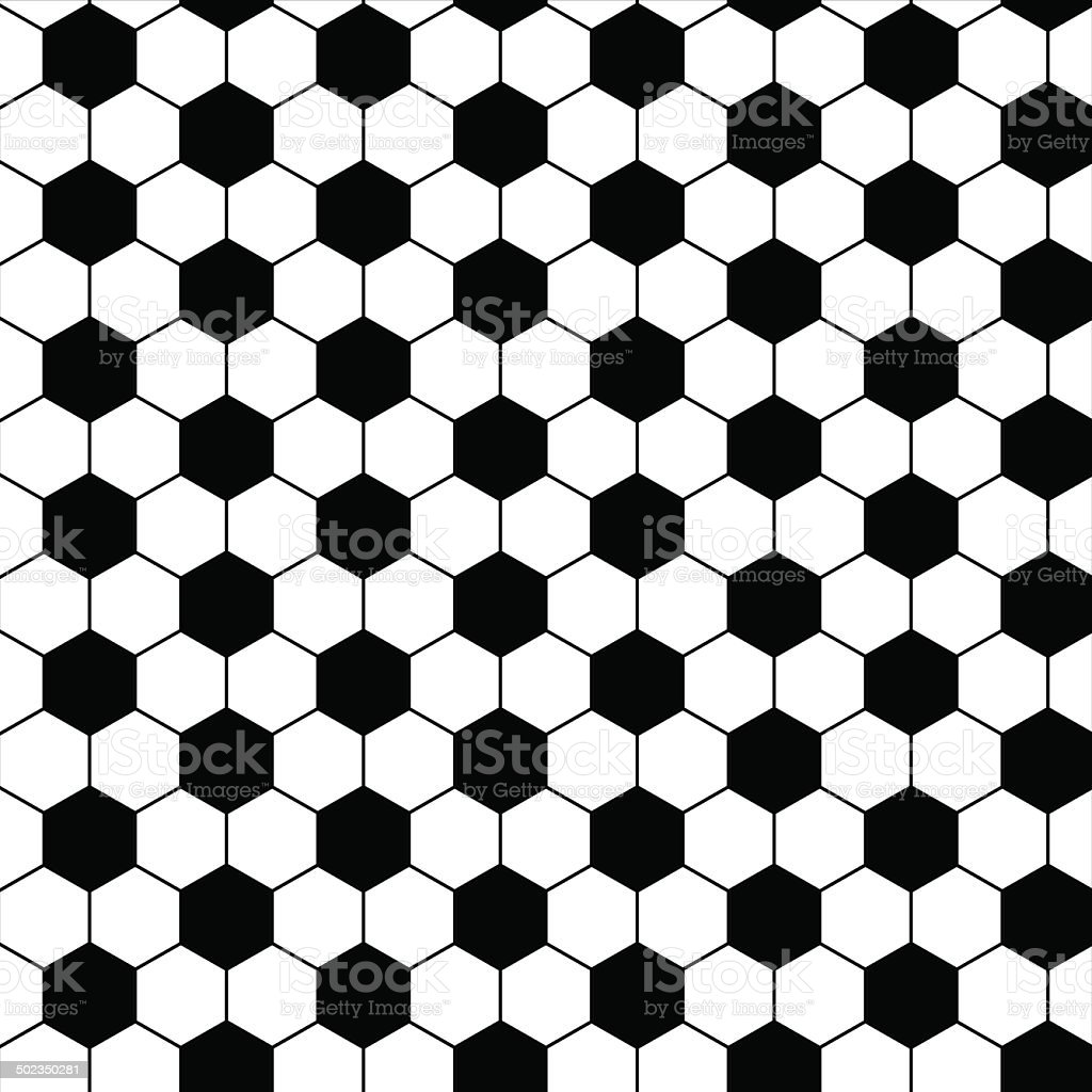 football seamless pattern vector art illustration