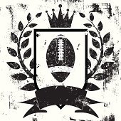 football shield insignia
