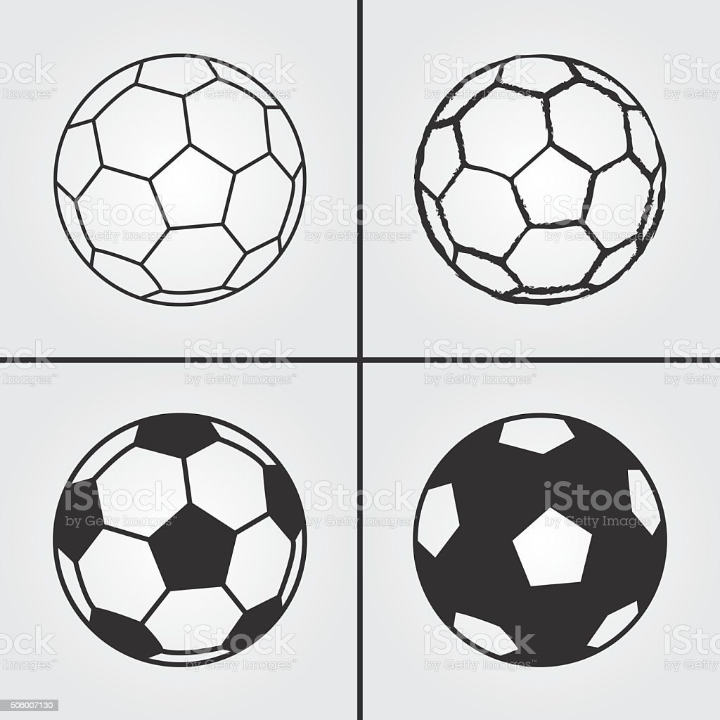 Football Soccer Ball Icon vector art illustration