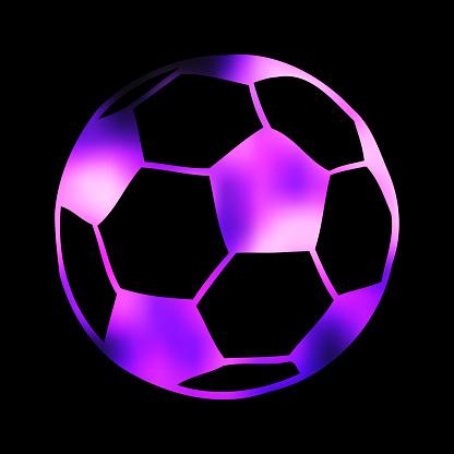 Football, soccer ball illustration