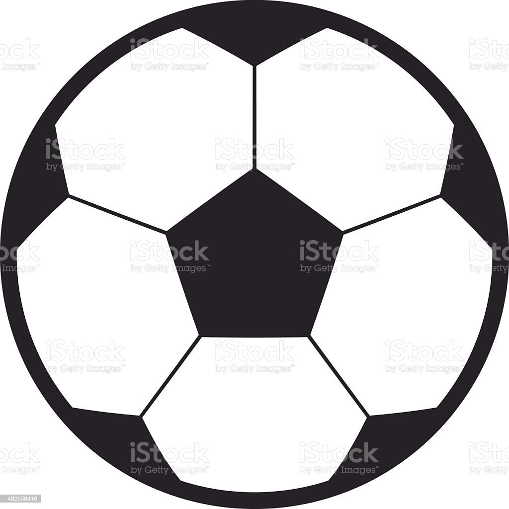 football soccer ball vector icon modern minimal flat design style rh istockphoto com  free soccer ball vector art