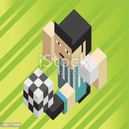 istock Football soccer player 453171649