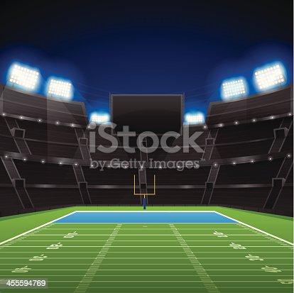 football stadium stock vector art   more images of Vertical Football Field Clip Art Football Field Diagram