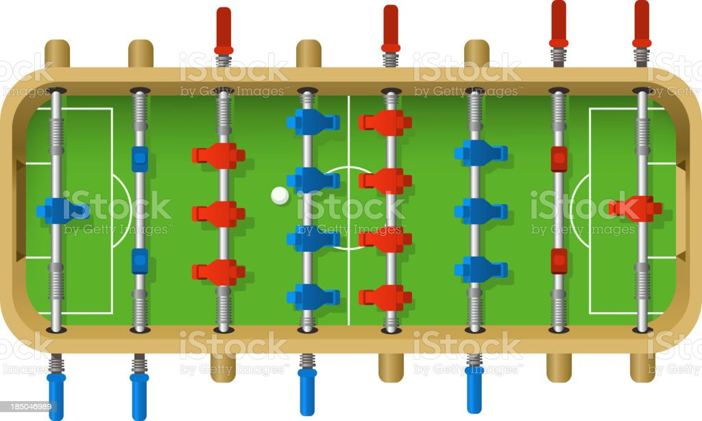 Table de Football - Illustration vectorielle