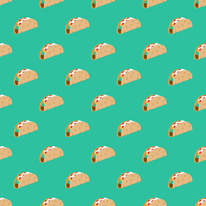 Football Tailgating Party Seamless Pattern