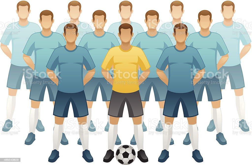 royalty free football team clip art vector images illustrations rh istockphoto com football team clipart free football team clip art pictures
