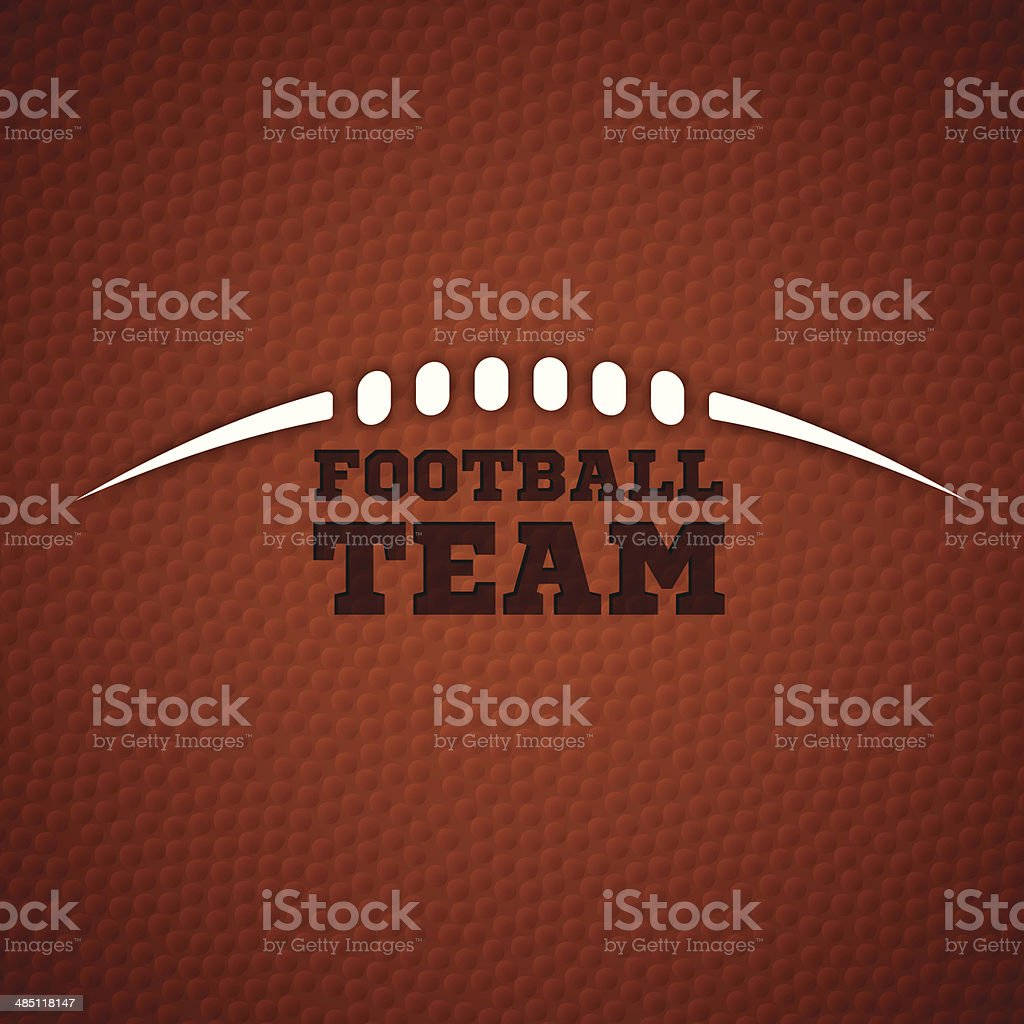 Football Team vector art illustration