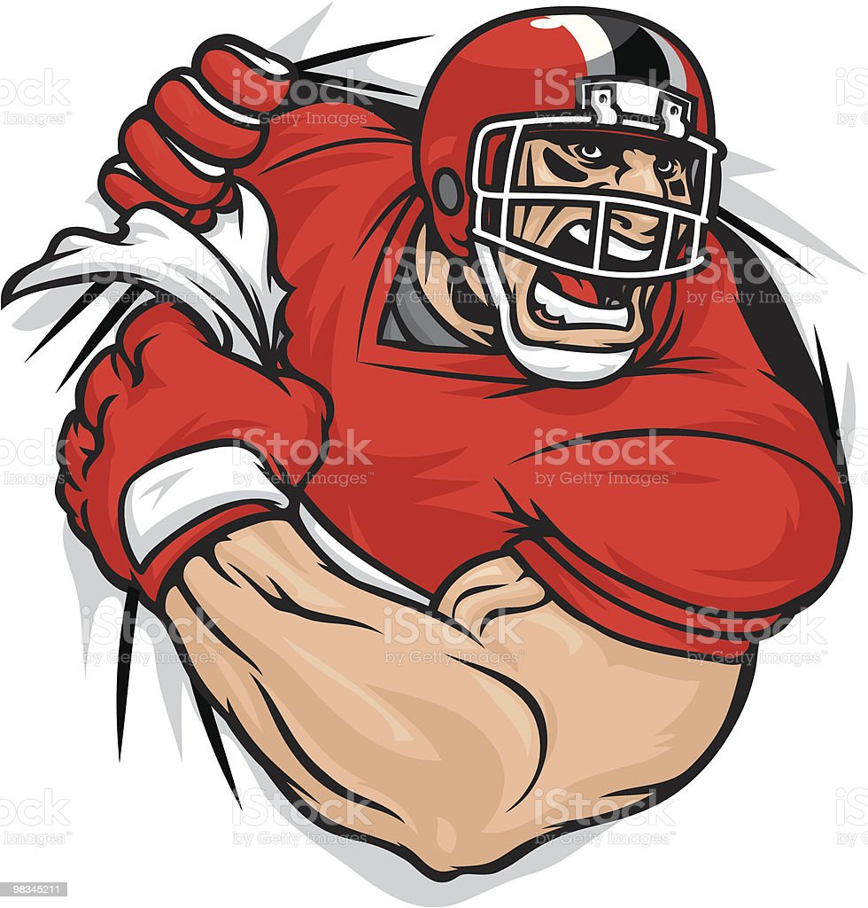 Football Tearing royalty-free football tearing stock vector art & more images of adult
