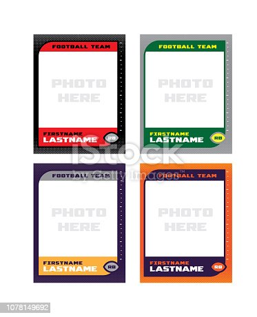 Football Trading Card