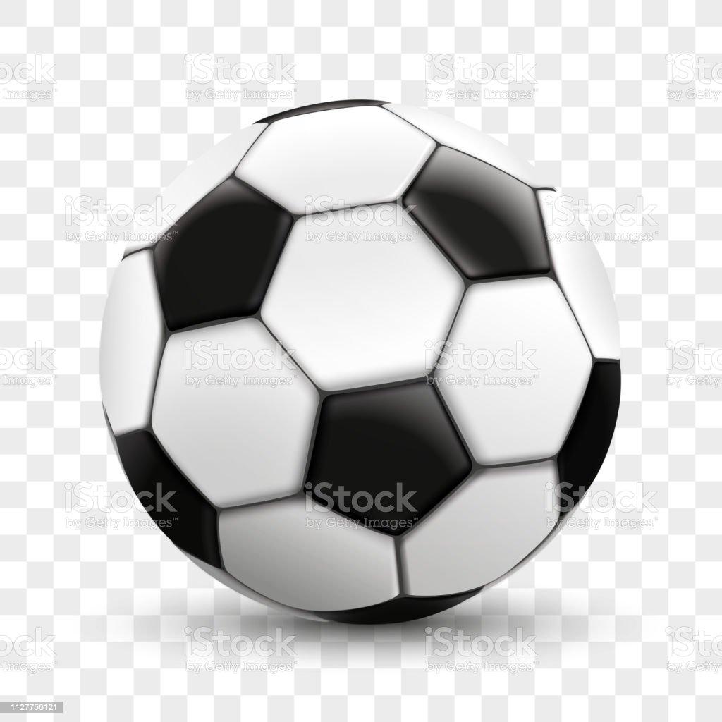 Fussball Transparenten Hintergrund Stock Vektor Art Und Mehr