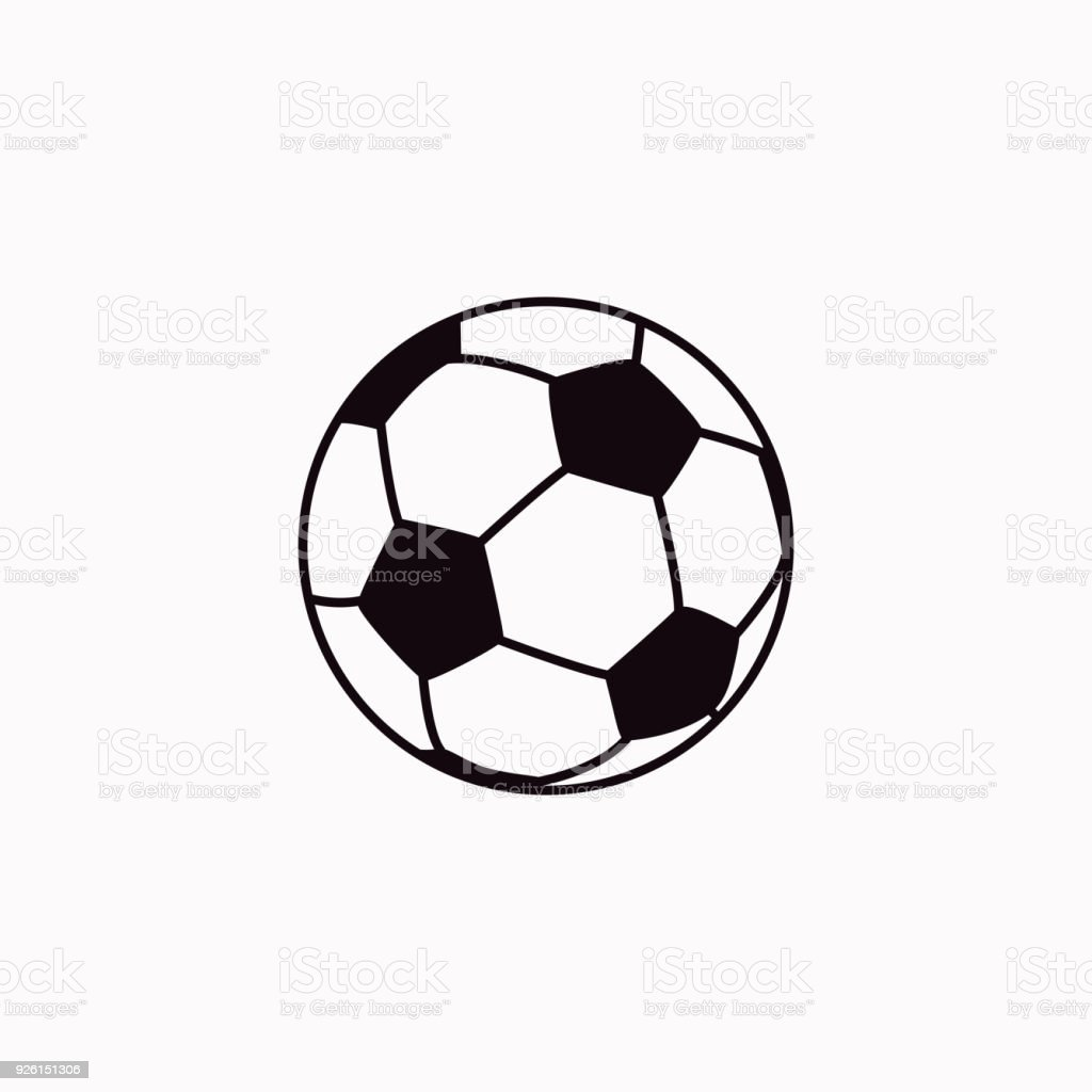 Football vector  icon.