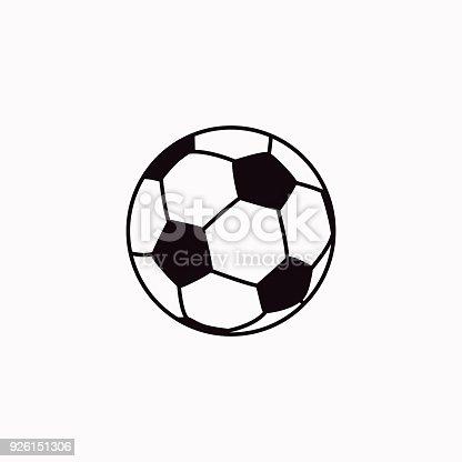 istock Football vector  icon. 926151306