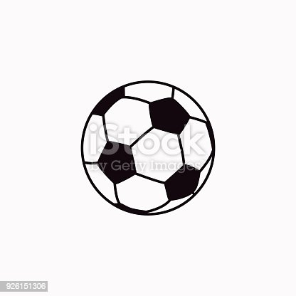 istock Football vector  icon. 926151306
