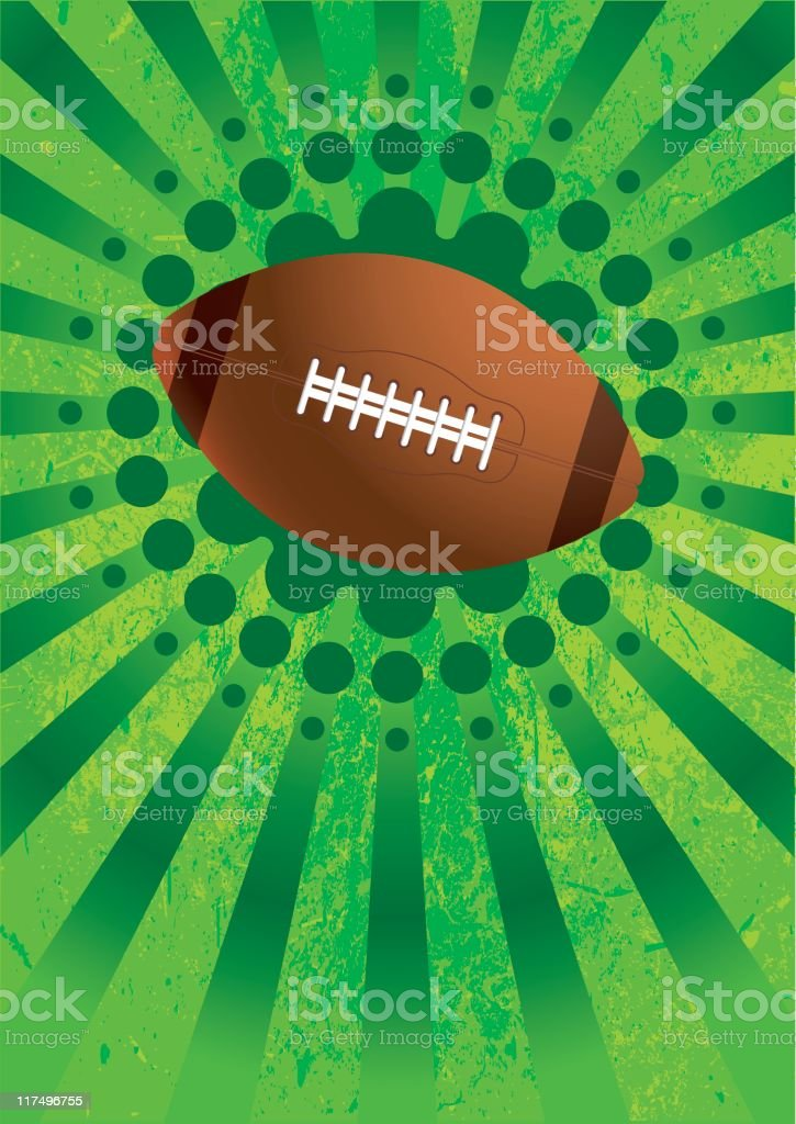 football royalty-free stock vector art
