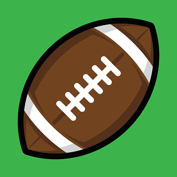 royalty free tackle american football player clip art vector images