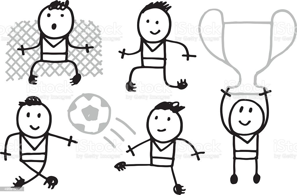 Football royalty-free football stock vector art & more images of adult