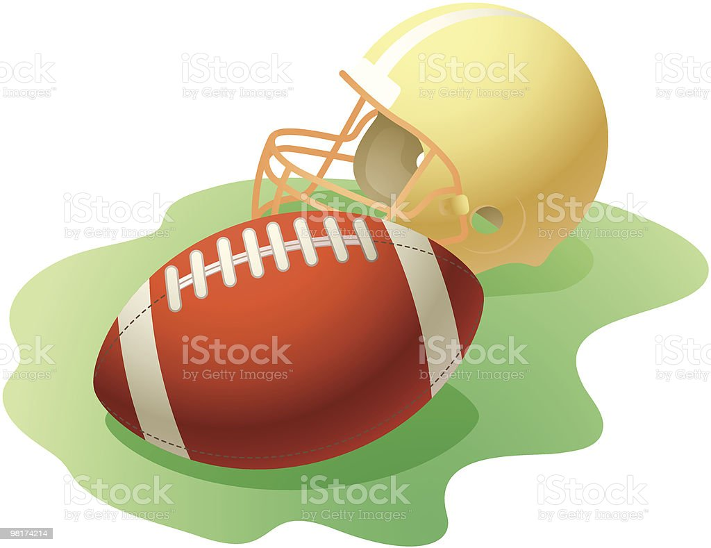 Football royalty-free football stock vector art & more images of american football - sport