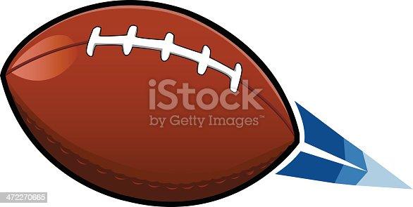 3D Football [vector]