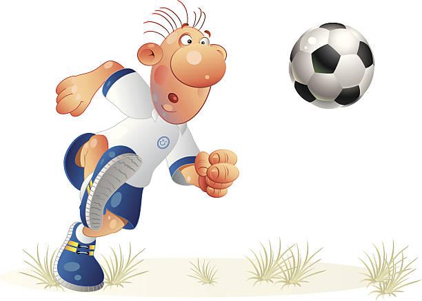 サッカー-2 ベクターアートイラスト