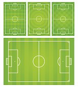 Football,Soccer field vector illustration