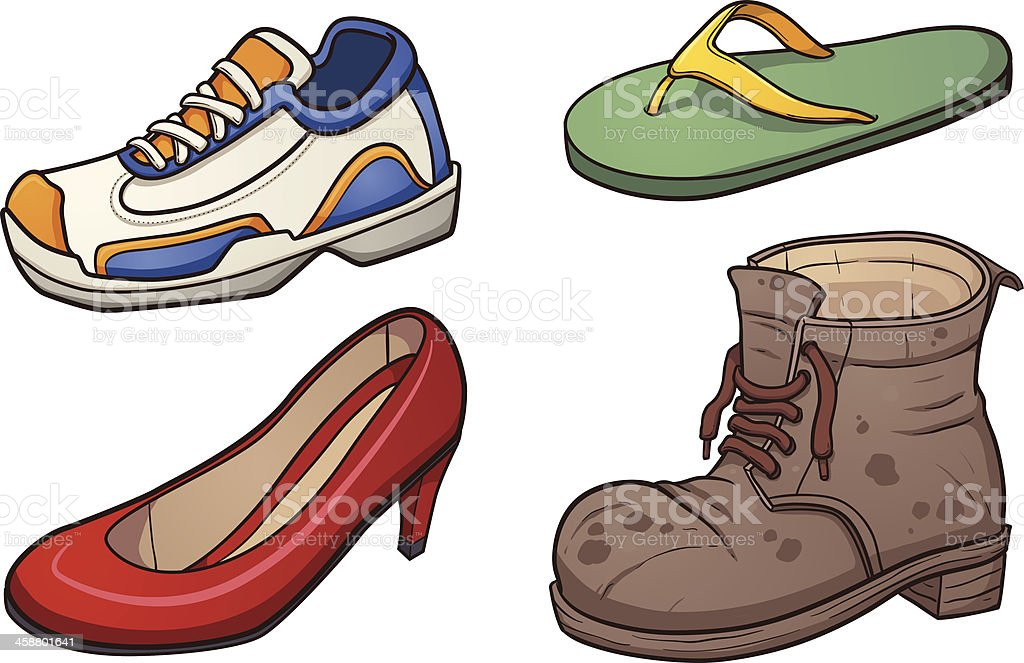 royalty free old shoes clip art vector images illustrations istock rh istockphoto com clip art shoes of peaces clip art shoes of the gospel