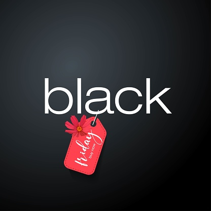 For Black Friday promotion in posters, flyers, banners, advertisements. Vector illustration.