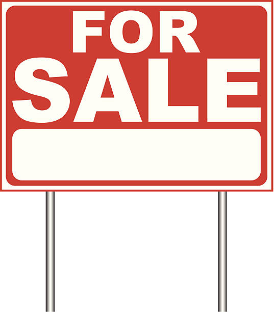 royalty free home for sale clip art vector images illustrations istock. Black Bedroom Furniture Sets. Home Design Ideas
