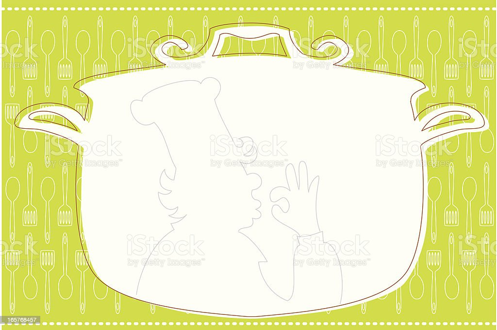 For yummy food vector art illustration