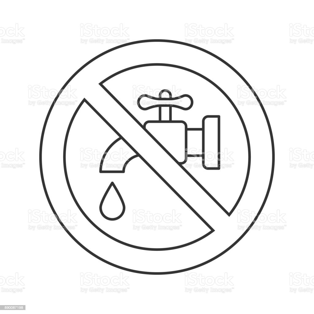 Verboten Schild Mit Hahn Symbol Stock Vektor Art und mehr Bilder von ...