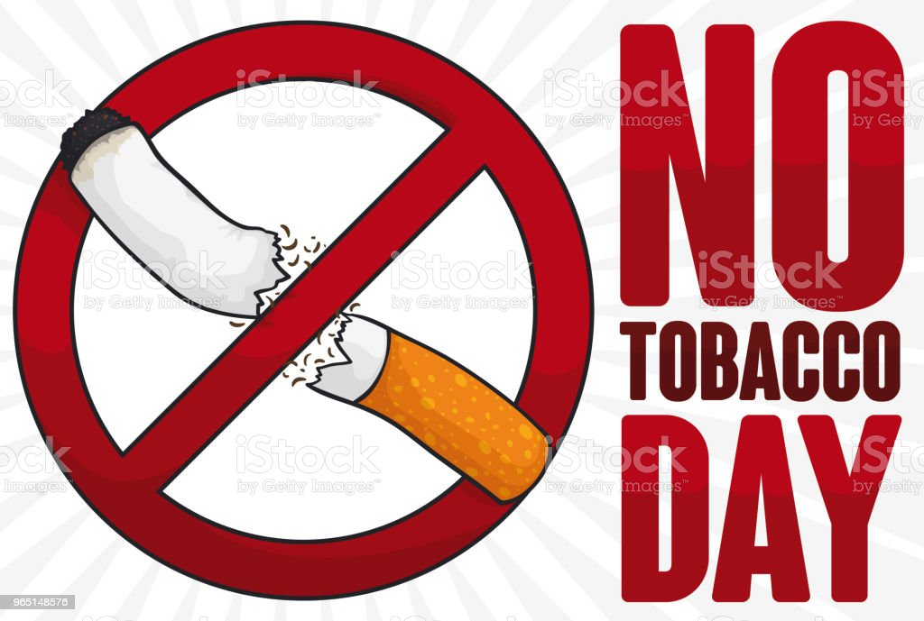 Forbidden Signal Breaking a Cigarette for No Tobacco Day royalty-free forbidden signal breaking a cigarette for no tobacco day stock vector art & more images of addict