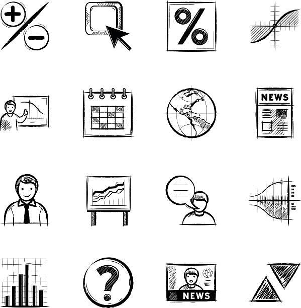 外国為替 - トレーニングのカレンダー点のイラスト素材/クリップアート素材/マンガ素材/アイコン素材