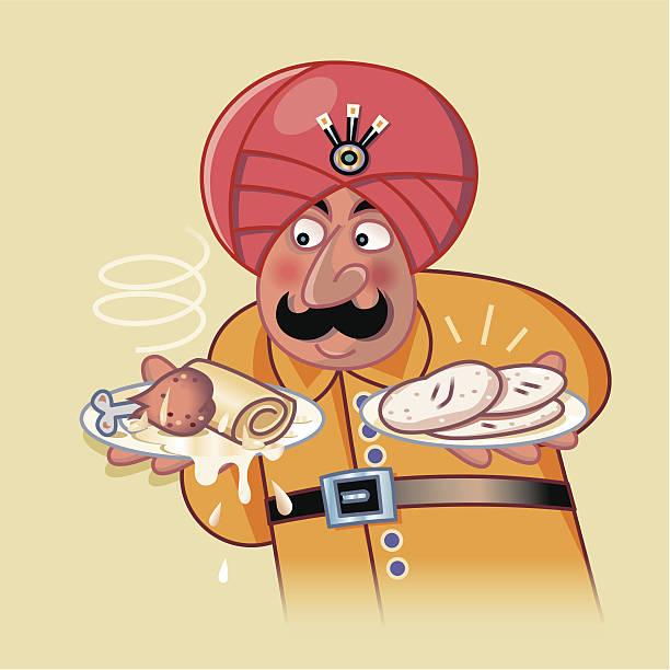 ilustraciones, imágenes clip art, dibujos animados e iconos de stock de extranjera - comida india