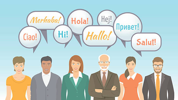 illustrations, cliparts, dessins animés et icônes de école de langues étrangères pour adultes à illustration - cours de langue