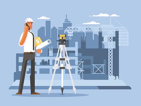 Engineer stock illustrations