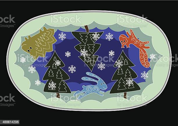 Forest animals winter night vector id455614205?b=1&k=6&m=455614205&s=612x612&h=jxuevtfssnacmumtnbjpcihntjsakv8wvj5juhomsky=