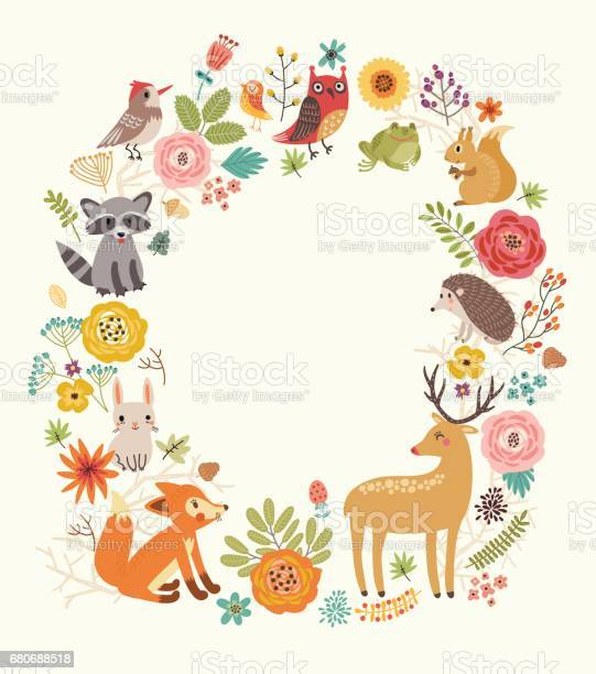 Forest background with animals vector id680688518?b=1&k=6&m=680688518&s=612x612&h=ait ms z9pytznemo07bygy2mein9id9i7ciabhbai8=