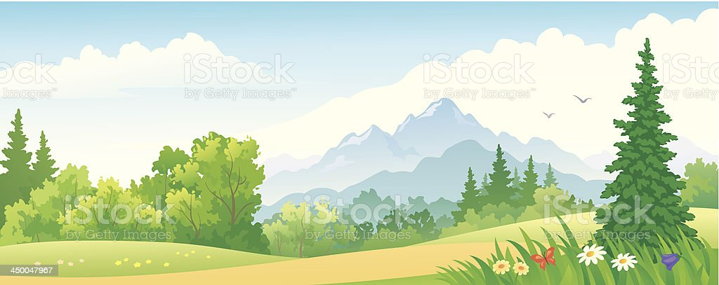 Forest banner royalty-free forest banner stock vector art & more images of backgrounds