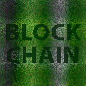 Forest Blockchain Text Binary Numbers Vector Pattern. Global Colors used, so you can easily change the base colors with just a few clicks. The colors in the .eps-file are in RGB. Transparencies used. Included files are EPS (v10) and Hi-Res JPG.