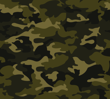 Forest Camo Pattern Repeat