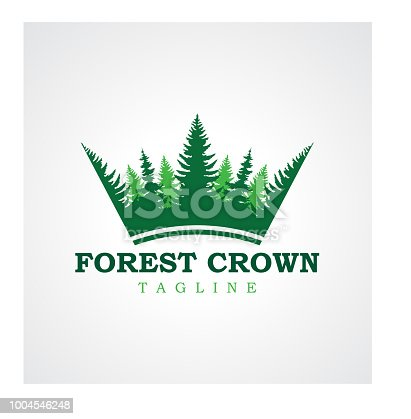 forest crown design