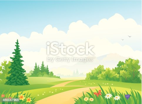 istock Forest landscape 450047965