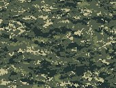 Forest military pixels texture