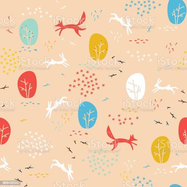 Forest seamless pattern with animals vector id869405342?b=1&k=6&m=869405342&s=612x612&h=p0rv qg88mnssq0zqsnkyzxnsklzs8sraldcsu70eho=
