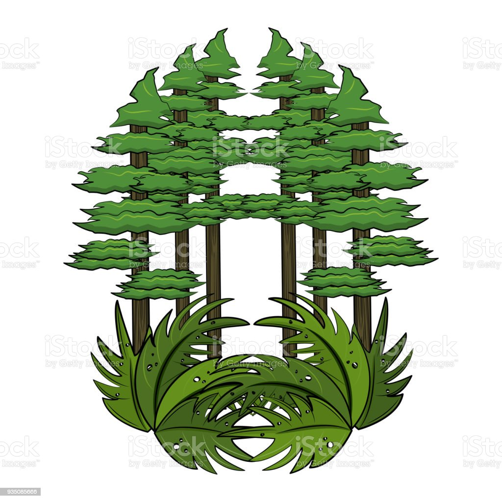 Forest Trees Cartoon Stock Illustration Download Image Now Istock Here you can explore hq forest transparent illustrations, icons and clipart with filter setting like size, type, color etc. forest trees cartoon stock illustration download image now istock