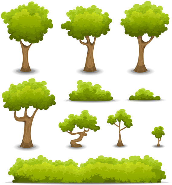 Best Bush Illustrations, Royalty-Free Vector Graphics ...