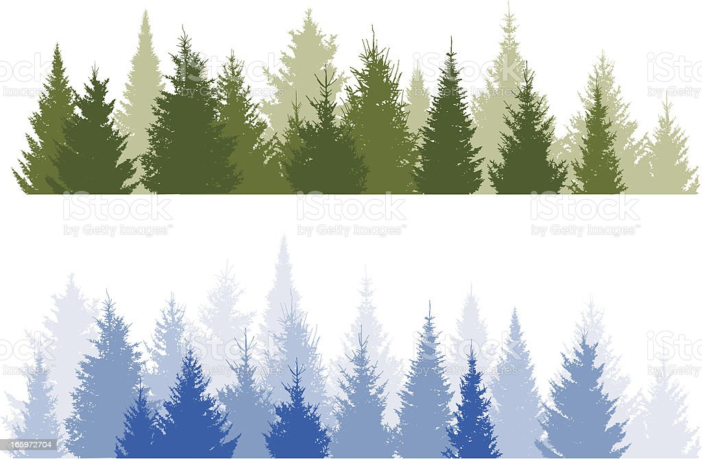 Forest royalty-free forest stock vector art & more images of backgrounds